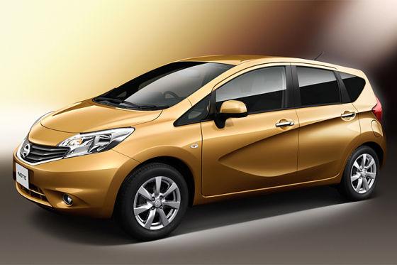Nissan Note 2013, Japanversion, Juli 2012