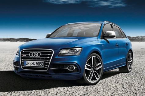 Audi SQ5 TDI exclusive concept: Paris 2012