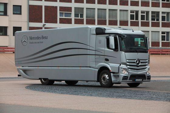 Mercedes Benz Aerodynamics Truck
