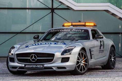Formel 1: Mercedes SLS AMG Safety Car