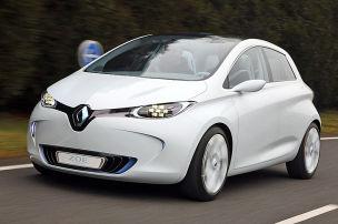 Probefahrt im Renault Zoe