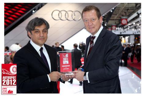 AUTOSPOT 2012: Die Gewinner
