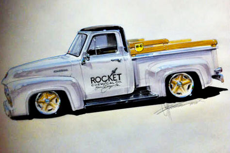 Chip Fooses Ford F-100