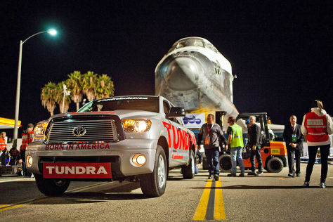Toyota Tundra Endeavour-Aktion