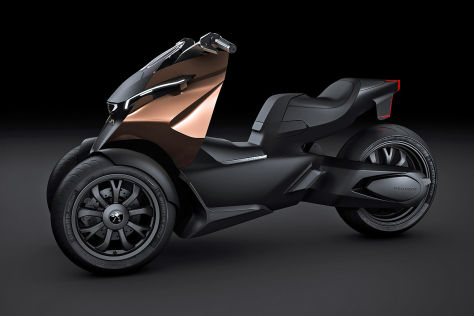 Peugeot Concept-Scooter Onyx