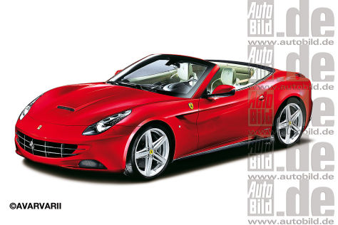 Ferrari California II Illustration