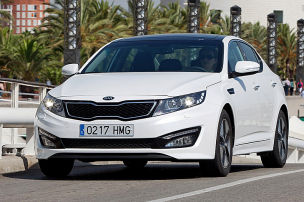Kia Optima Hybrid: Preis