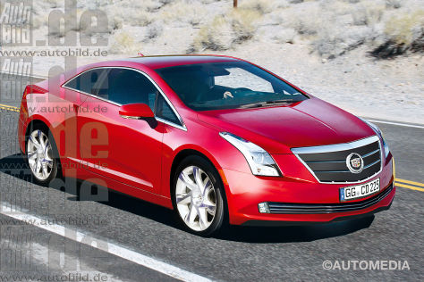 Cadillac ELR Illustration