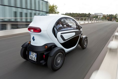 Renault Twizy mit Seitenscheiben