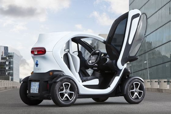 renault twizy mit seitenscheiben. Black Bedroom Furniture Sets. Home Design Ideas