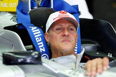 Michael Schumacher hört bei Mercedes auf