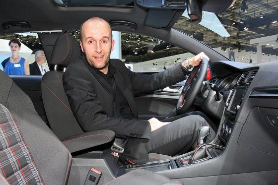VW Golf VII GTI Sitzprobe