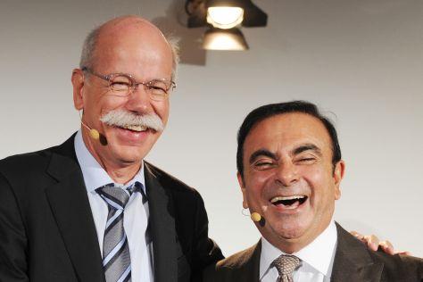 Daimler und Renault-Nissan rücken in Krise weiter zusammen