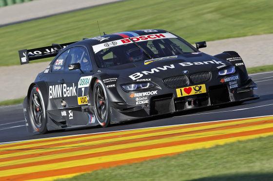 Bruno Spengler DTM 2012 Valencia BMW M3