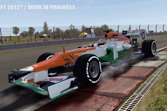 """Race-Game """"F1 2012"""""""