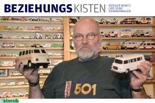 Modellautos: Rettungswagen
