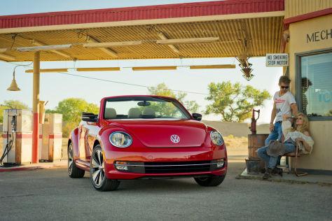 VW Beetle Cabriolet (2013)