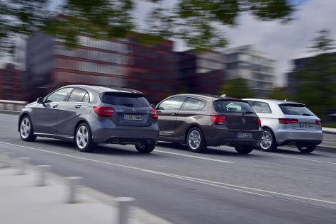 Audi A3 BMW 1er Mercedes A-Klasse