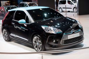 Citro�n DS3 Electrum: Autosalon Paris 2012