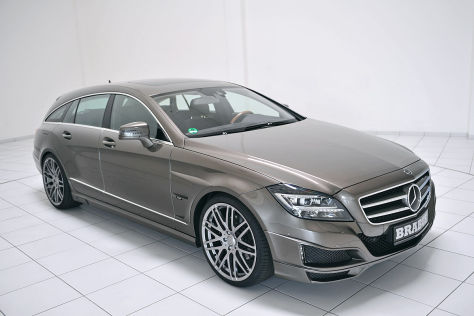 Mercedes CLS Shooting Brake: Tuning von Brabus