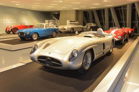 Mille Miglia: Ausstellung im Mercedes-Benz Museum