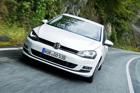 VW Golf VII: neue Motoren