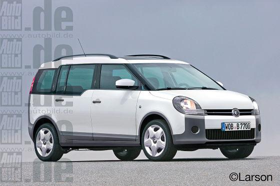 VW Budget Car (Van)