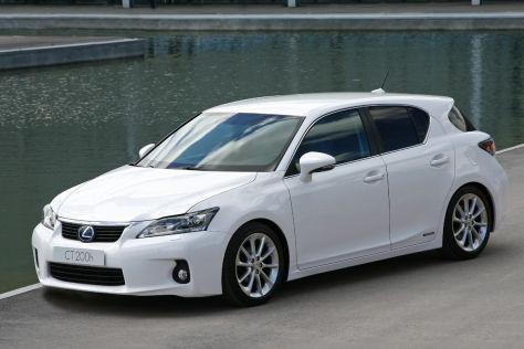 Lexus CT 200h: Modellpflege