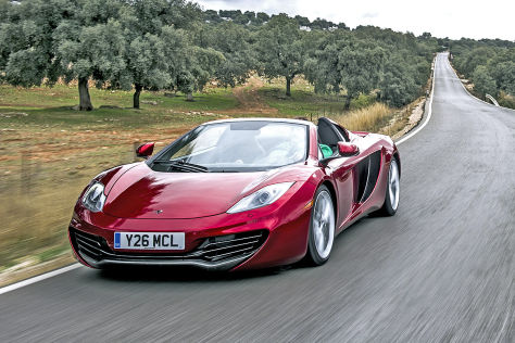 McLaren 12C Spider: Fahrbericht