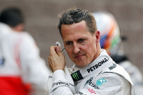 GP Korea 2012 - Michael Schumacher