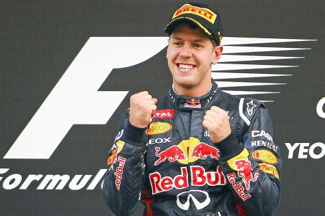 GP Korea 2012 - Sebastian Vettel Podium