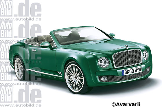 Bentley Mulsanne Cabrio (2014)