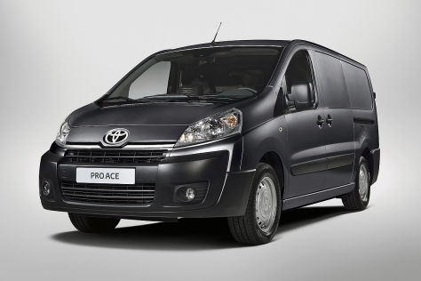 toyota proace vorstellung. Black Bedroom Furniture Sets. Home Design Ideas