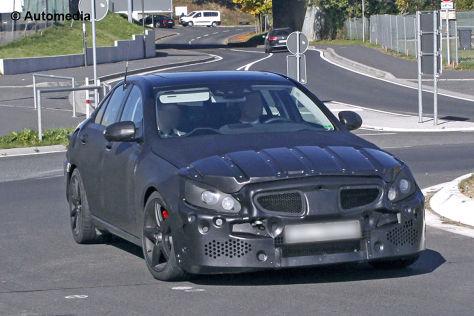 Mercedes C 55 AMG: Erlkönig