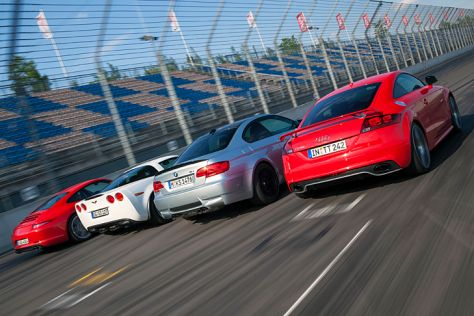 Corvette GS/TT RS plus/911 Carrera S/M3 Coupé: Test