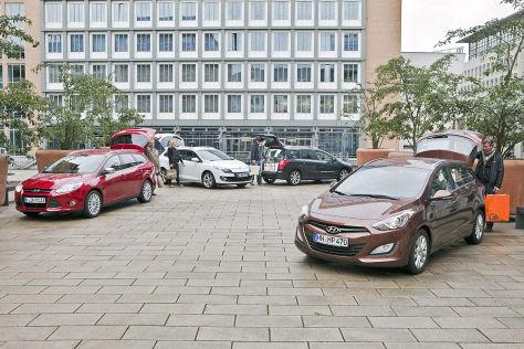 Ford Focus Hyundai i30 Peugeot 308 Renault Mégane