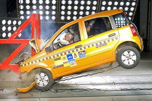 Airbag platzt bei Discocrash