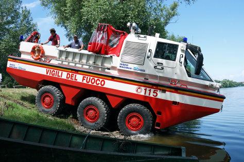Amphibienauto Magirus Duffy
