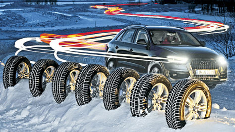 Winterreifen-Test: Dimension 235/55 R 17
