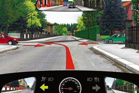 Computergrafik für Führerscheinprüfung