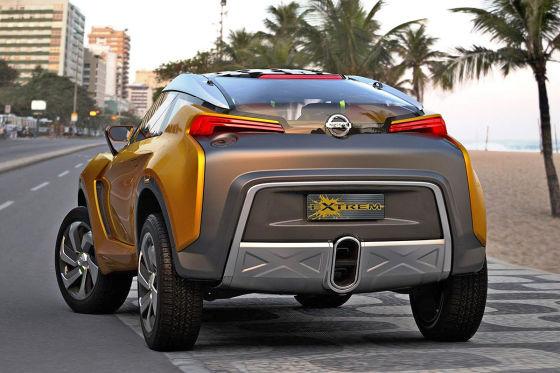 Nissan Extrem Concept: Vorstellung