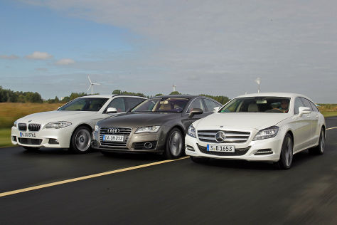 Audi A7 BMW 5er Touring Mercedes CLS Shooting Brake