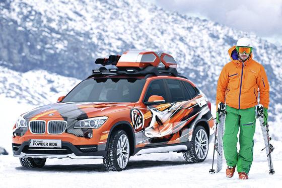 BMW K2 Powder Ride (Studie)