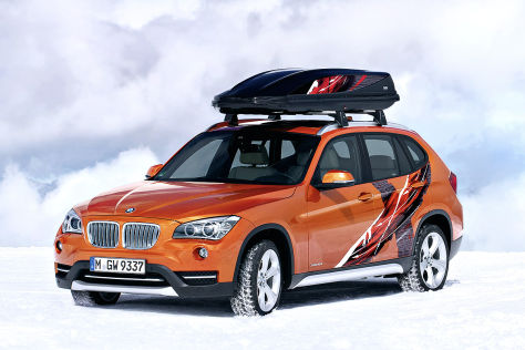 BMW K2 Powder Ride und X1 Edition Powder Ride