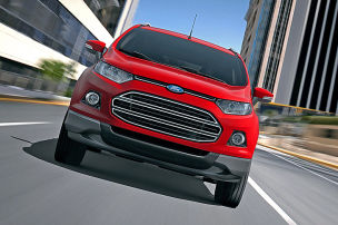 So f�hrt der Ford EcoSport