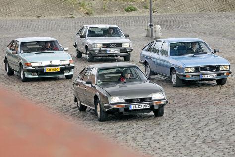 Vergleichstest: Limousinen mit Schrägheck