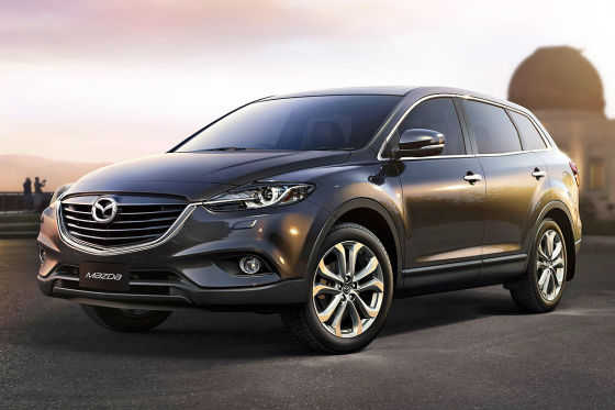 facelift mazda cx 9 gro suv f r down under. Black Bedroom Furniture Sets. Home Design Ideas