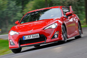Toyota GT86 mit Aeropaket: Test