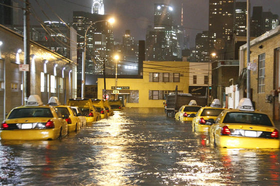 Folgen des Hurricanes Sandy