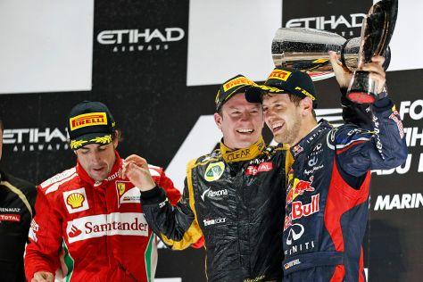 Formel 1 2012 Abu Dhabi